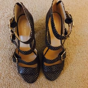 Nine West Sandal/Heels - Sz 11
